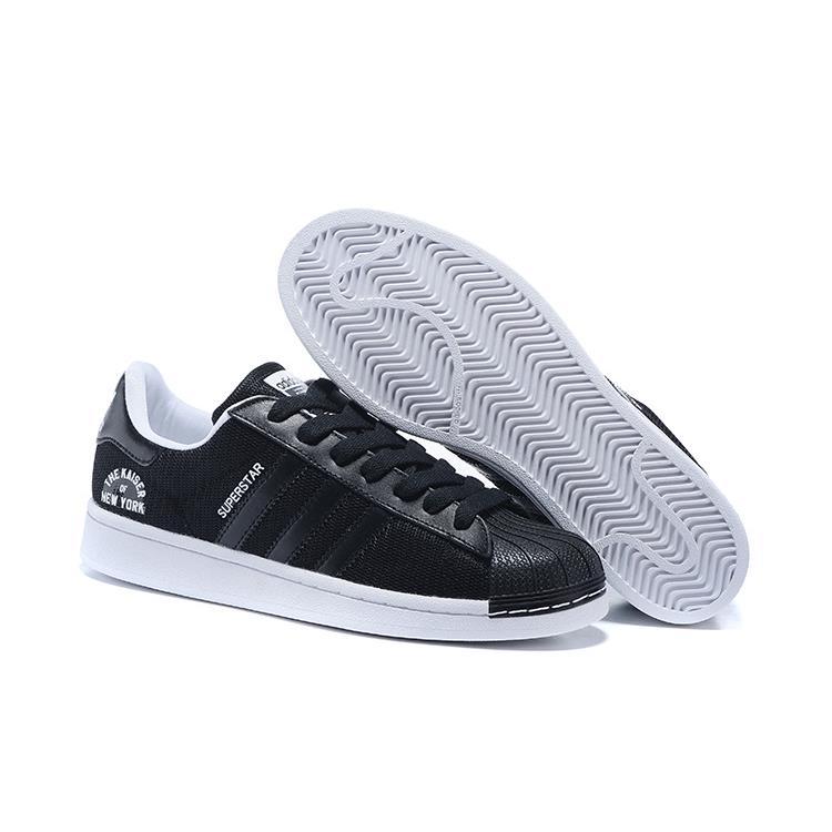 Adidas Originals 貝殼頭板鞋 SUPER STAR 2016 紐約黑騎士
