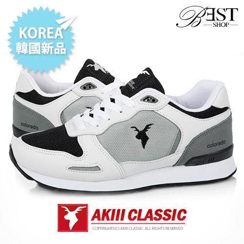 正韓 AKIII 鞋 慢跑鞋 韓國品牌 情侶鞋 增高 鞋~COLORADO~WB~