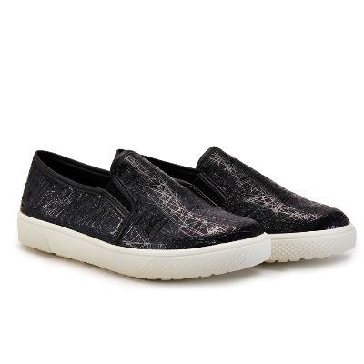 懶人鞋 線條 便鞋 N58 黑