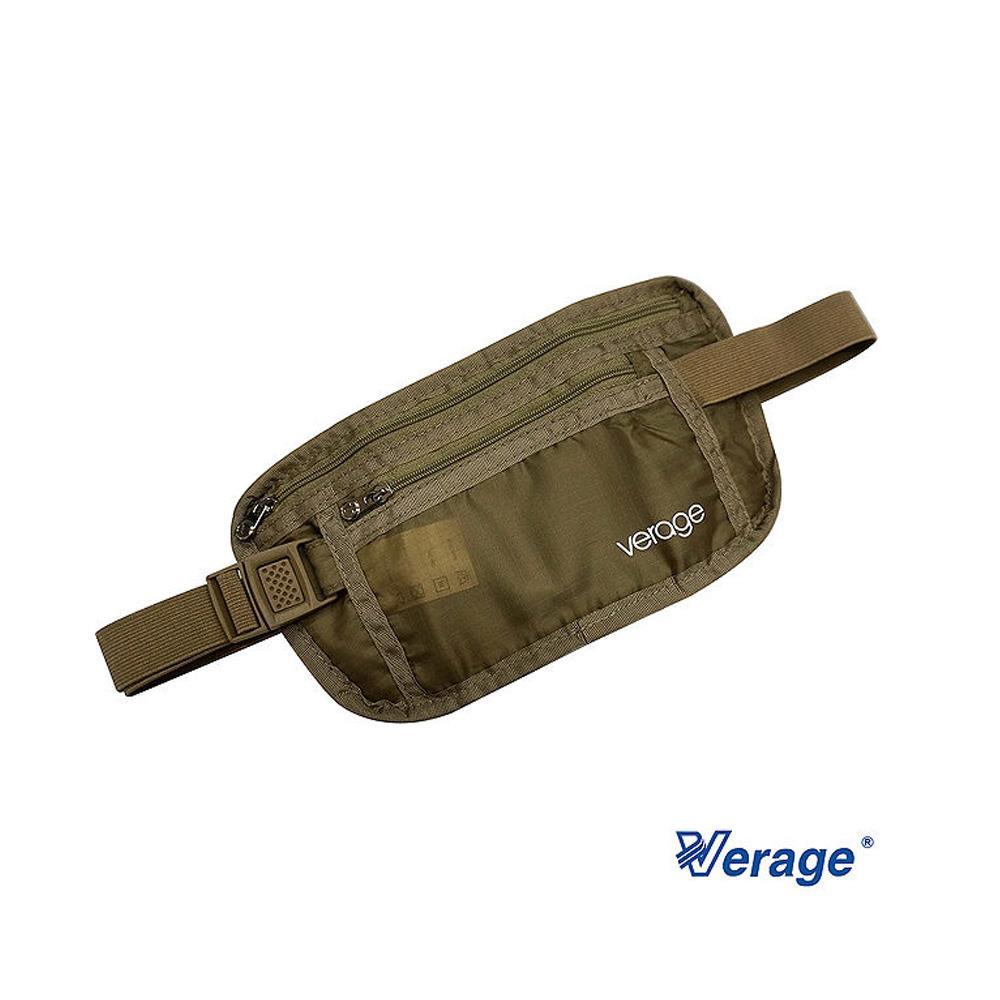 Verage 旅行腰包~卡其~379~5024