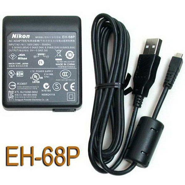 Nikon EH~68P EH68P 旅充頭 插頭 送充電線 ~ANIAB9~