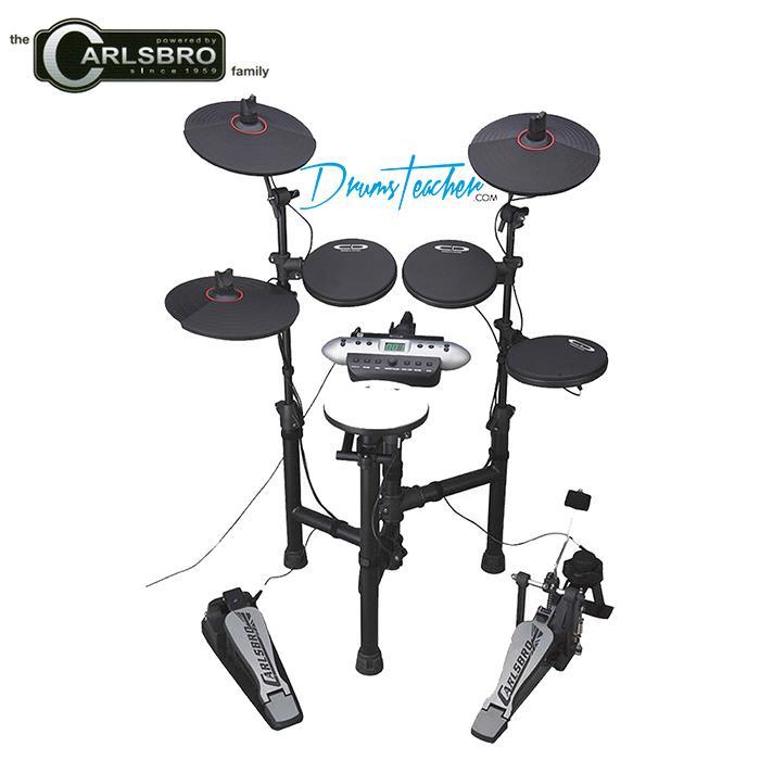 ~CARLSBRO~CSD130 攜帶型可摺疊電子鼓組^(含套裝 ^)