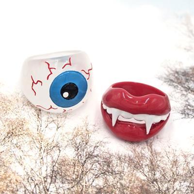 〔APM飾品〕 Gargle 怪物們的萬聖遊行戒指  吸血鬼   大眼怪
