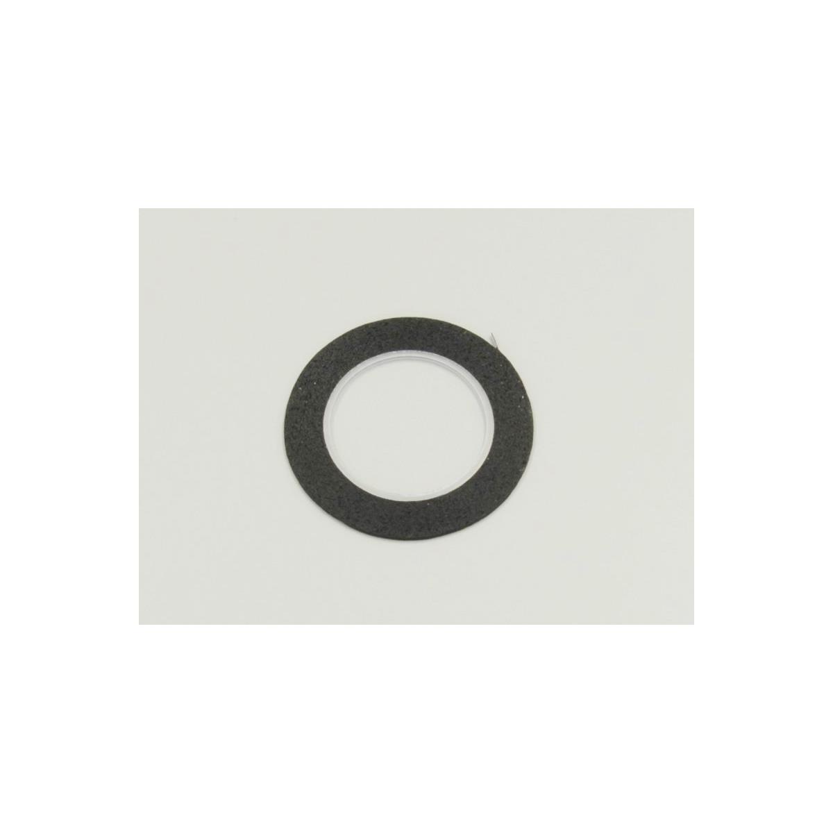 1842BK Micron Tape  1.5mm x 5m  Black