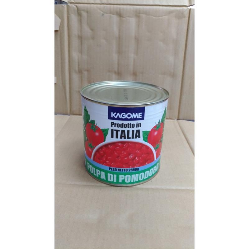 可果美蕃茄切丁(2550g 罐)