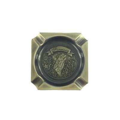 ~收藏天地~ 品~ 方形金色飾盤磁鐵/ 送禮 文創  吊飾 旅行