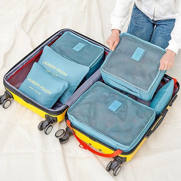 加大防水衣物分類收納袋六件組  衣櫃控~WardrobE  TZ~D30