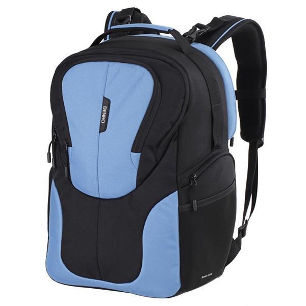 BENRO Reebok 300N 銳步 雙肩攝影背包 藍色 附防雨罩
