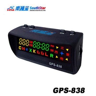 SouthStar 南極星 星鑽 GPS~838 全彩雙顯面板測速警示器