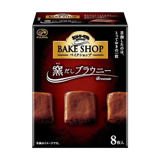 不二家 BAKE SHOP布朗尼餅乾