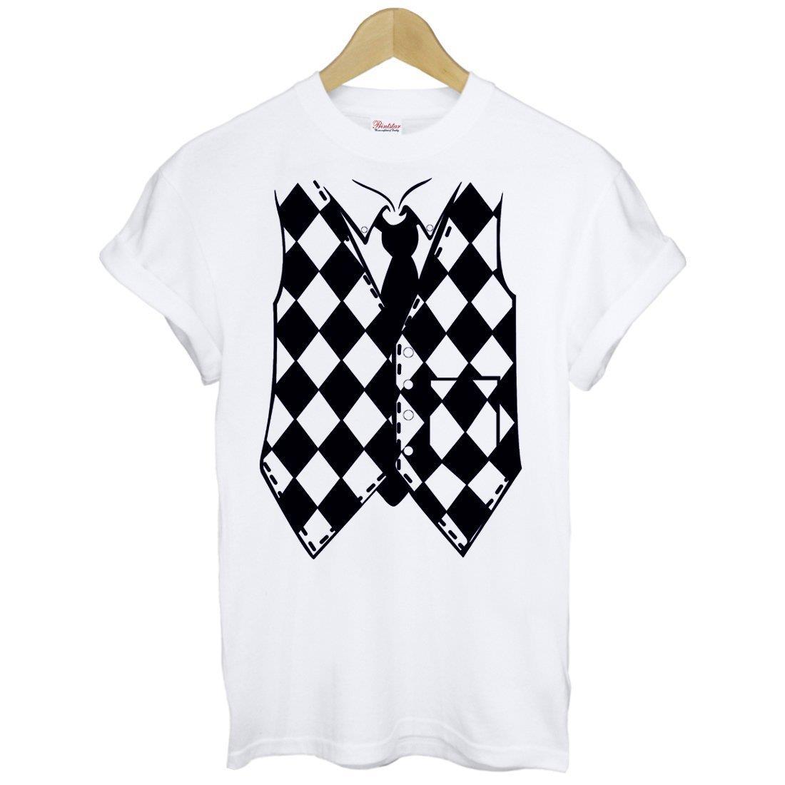 Vest假背心短袖T恤 2色 趣味幽默 攝影照相 潮搖滾性感街頭韓 滑板人物290 gil