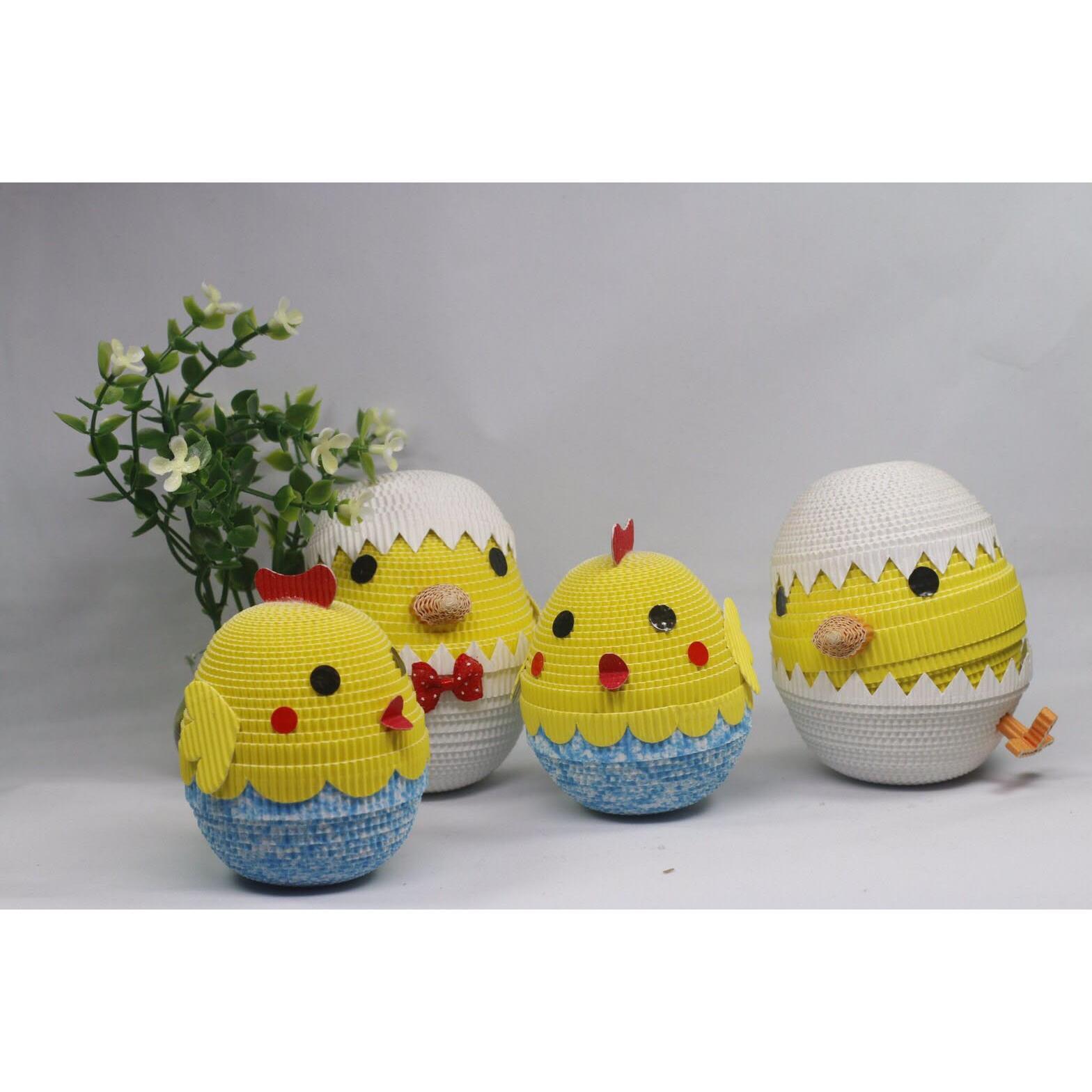 京站~微笑文創~蛋捲娃娃DIY材料包~可愛小雞 帶路雞