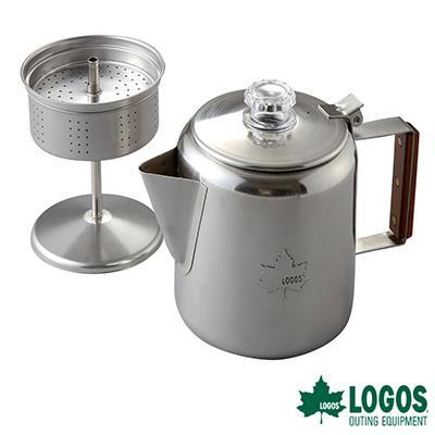 ~LOGOS~不鏽鋼咖啡壺 6杯  #LG81210300