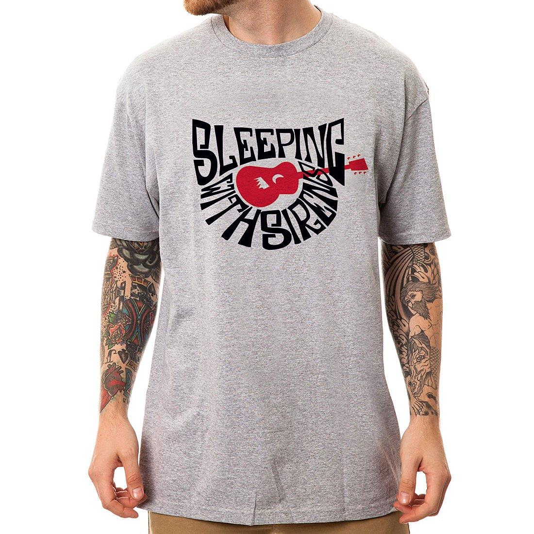 Sleeping With Sirens短袖T恤~2色 吉他團搖滾金屬龐克美國 ROCK