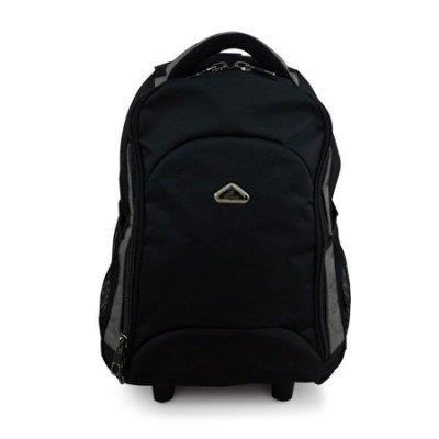加賀皮件 WALLABY 小袋鼠 拉桿後背包 筆電包 16吋 多色 ^(灰邊 ^) HTK