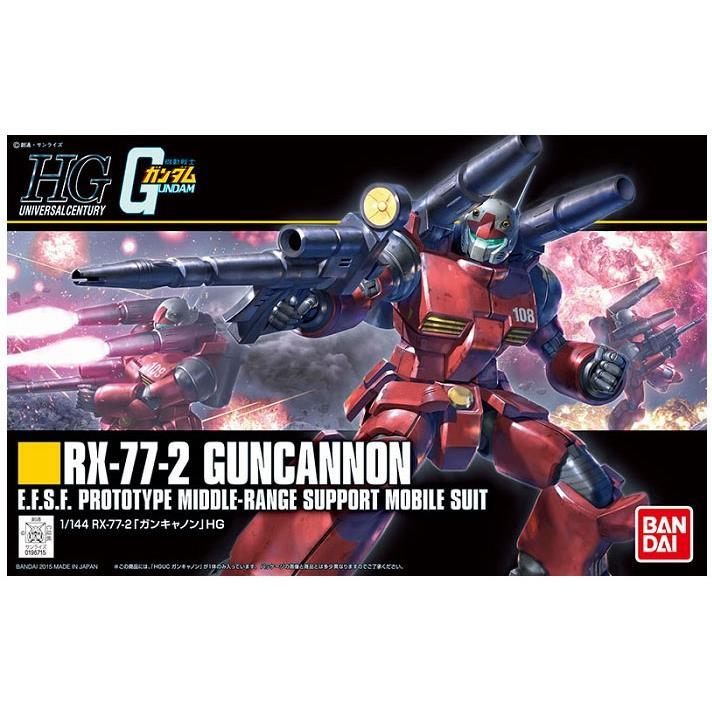 HGUC 1 144 190 RX~77~2 鋼加農 新生 REVIVE 機動戰士鋼彈
