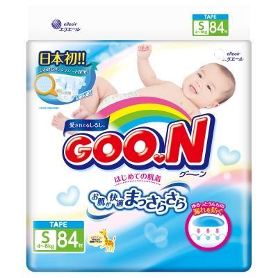 GOO.N 大王紙尿褲境內版 S84片 包