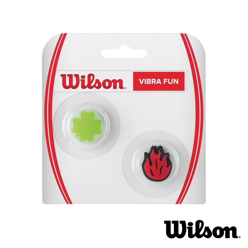 ✔ 7折 Wilson VIBRAFUN 避震器 三葉草 火焰
