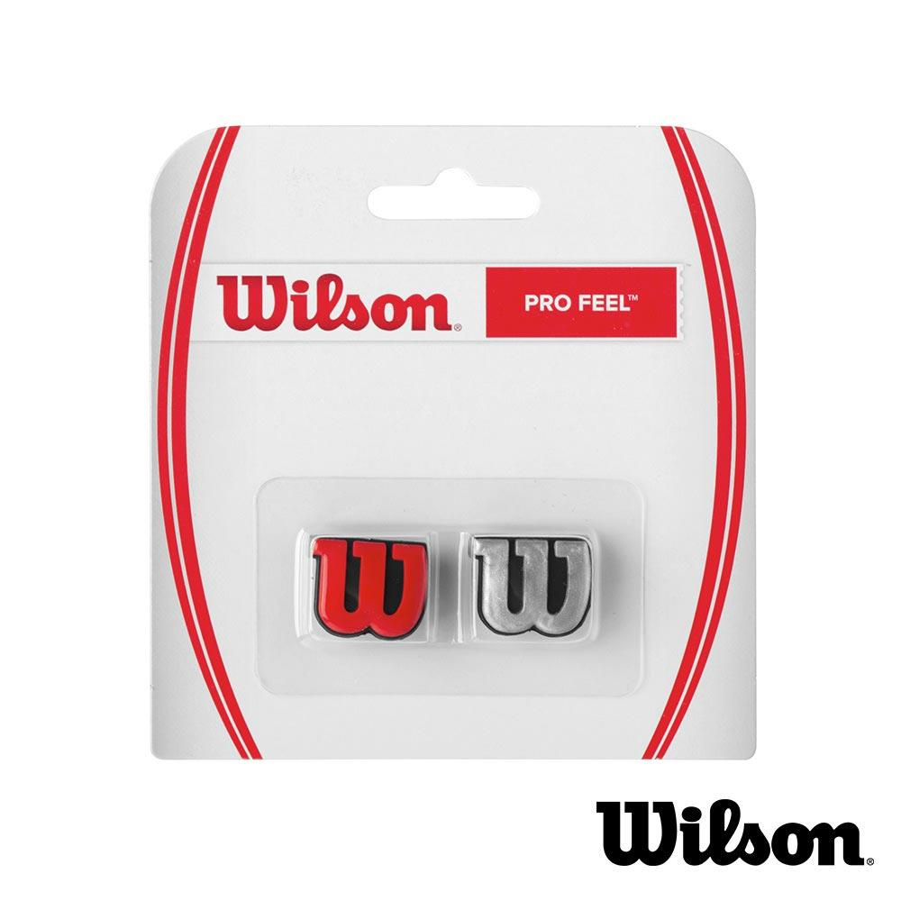 ✔ 7折 Wilson Pro Feel 避震器 紅 銀