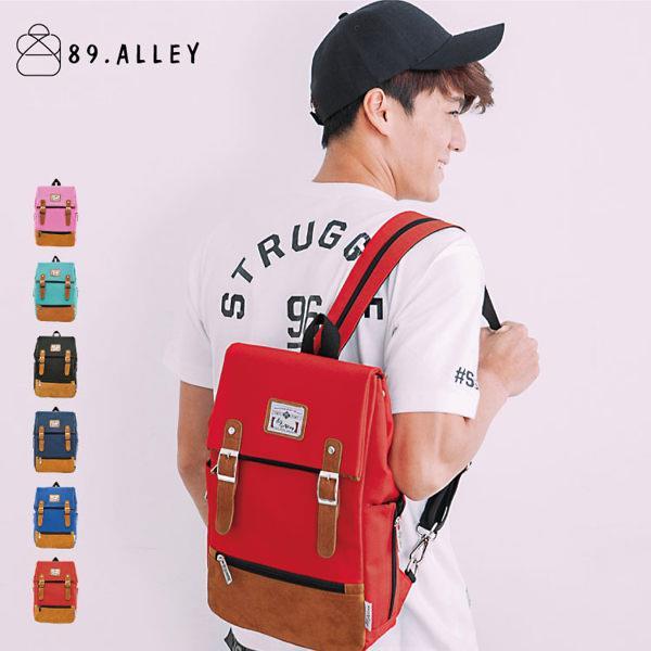 加賀皮件 89.Alley 女包男包 品牌 加厚尼龍 麂皮 多色 情侶款 後背包 單肩