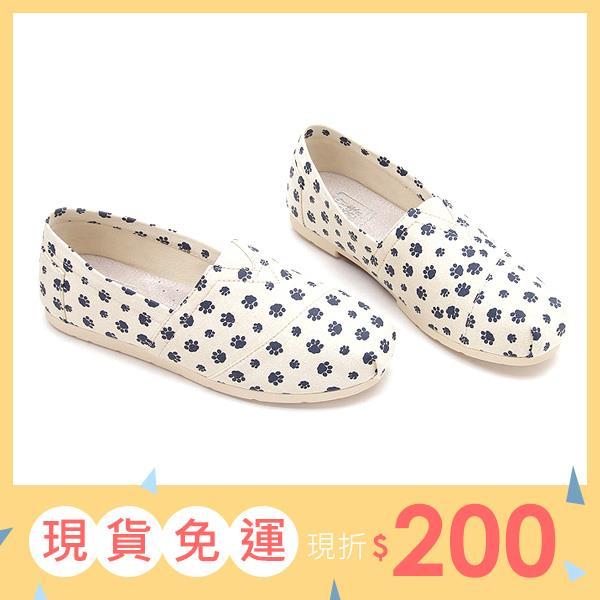 大 女鞋~可愛不規則印花懶人鞋 40~45碼~YSD09❤172巷鞋舖~