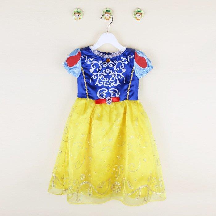 洋洋派對樂兒童白雪公主服洋裝禮服~兒童 服藍灰姑娘萬聖節服裝聖誕節舞會派對服裝表演灰姑娘公