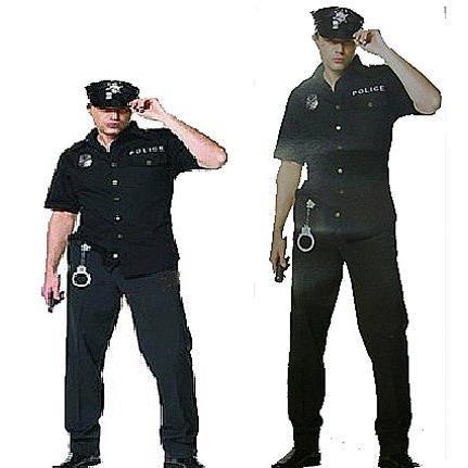 ~洋洋派對樂~~男警察警長服裝~警察服制服大人萬聖節服裝.聖誕節服裝造形服化妝舞會表演服道