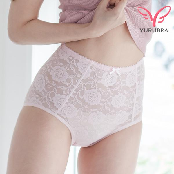 玉如塑身~癡情玫瑰修飾褲~束腰~撫平~小腹~透氣280D~內褲~ 製~M029