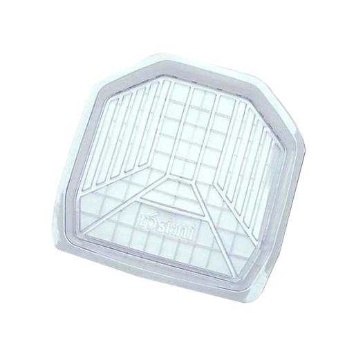 3D透明雪泥汽車踏墊 車用腳踏墊 後座 立體凹槽 清洗容易 透明 限宅配