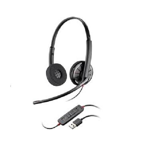 ~雙耳型 USB~Plantronics Blackwire C320 頭戴USB耳機