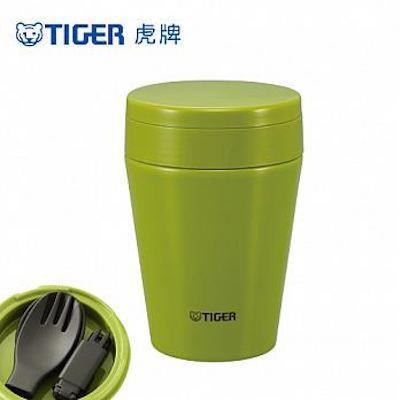 ^( 34折^)TIGER虎牌 380cc不鏽鋼真空食物罐^(MCC~C038~GA^)芥