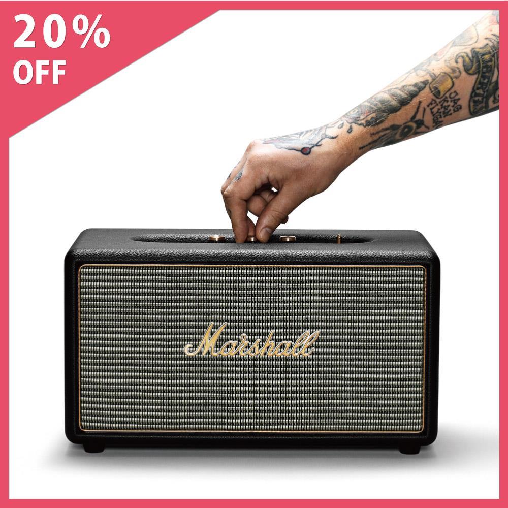 Marshall Stanmore Bluetooth 藍芽喇叭~Black 黑