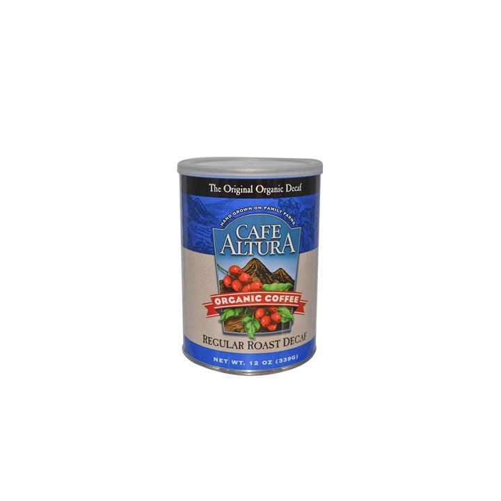 Cafe Altura 有機一般烘焙低咖啡因研磨咖啡粉