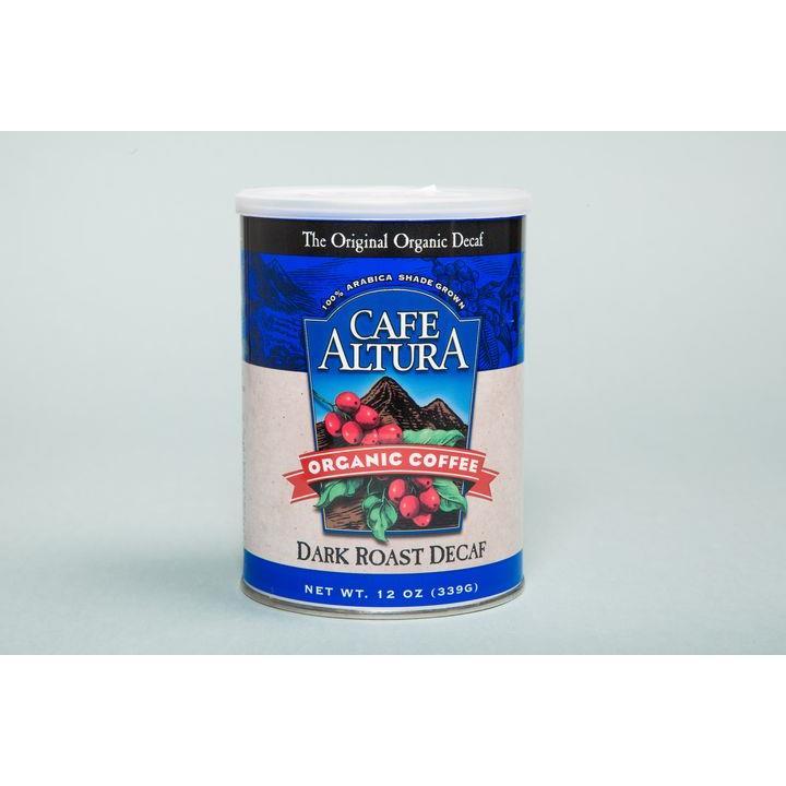 Cafe Altura 有機深烘焙低咖啡因研磨咖啡粉