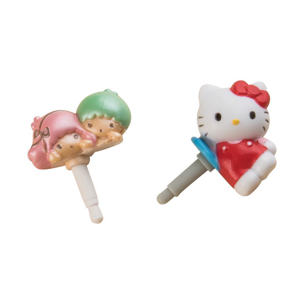 三麗鷗 耳機塞 Hello Kitty 雙子星 Kikilala 耳機防塵塞 iPhone
