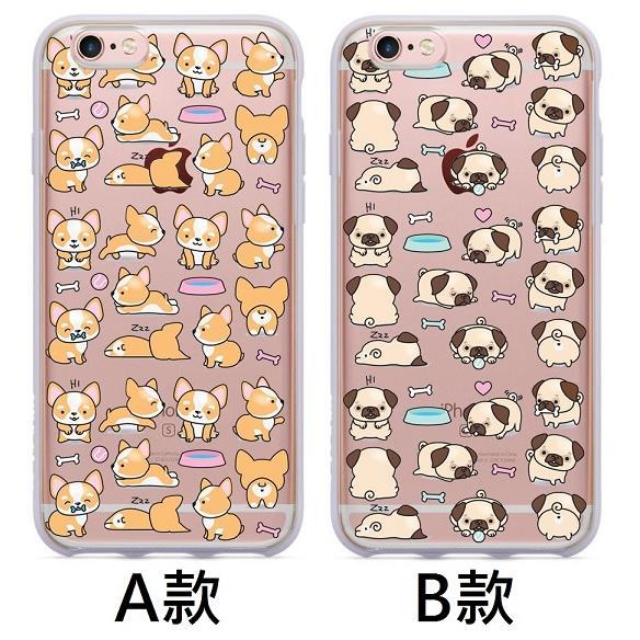 K M亂花狗狗系列~IPHONE~4 4S 5 5S 6 6S 6PLUS 6SPLUS