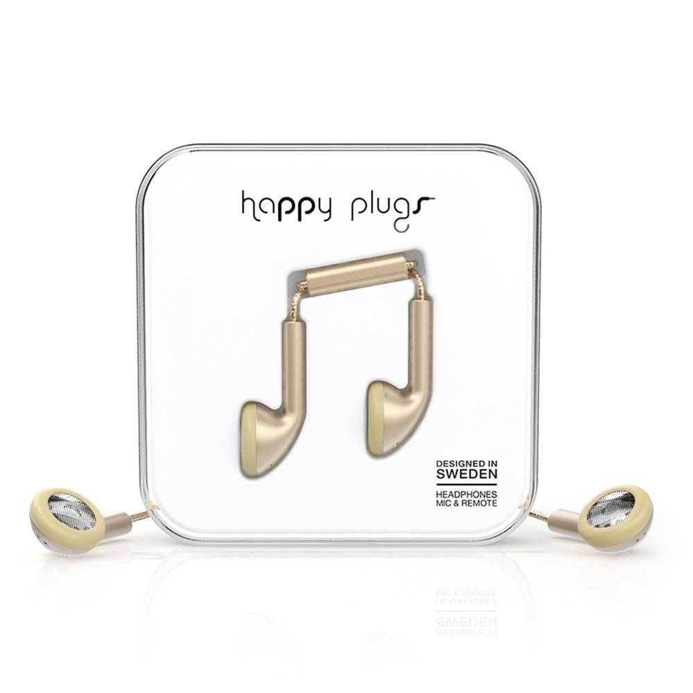 HAPPY PLUGS Earbud 耳塞式耳機~Ch agne 香檳金