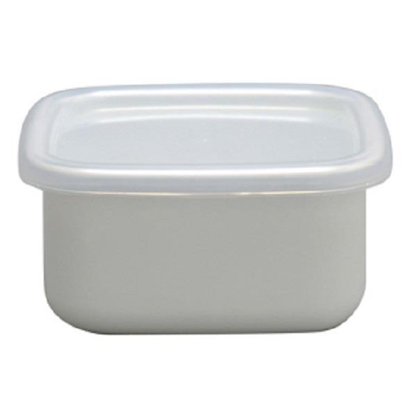 野田琺瑯 方型附蓋儲物罐 小型