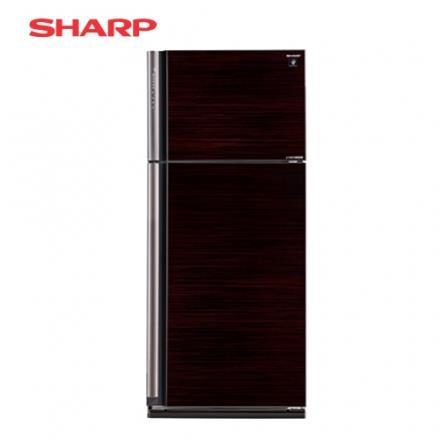 [SHARP 夏普]583公升 變頻雙門自動除菌離子冰箱~玄武黑 SJ~PD58V~BK