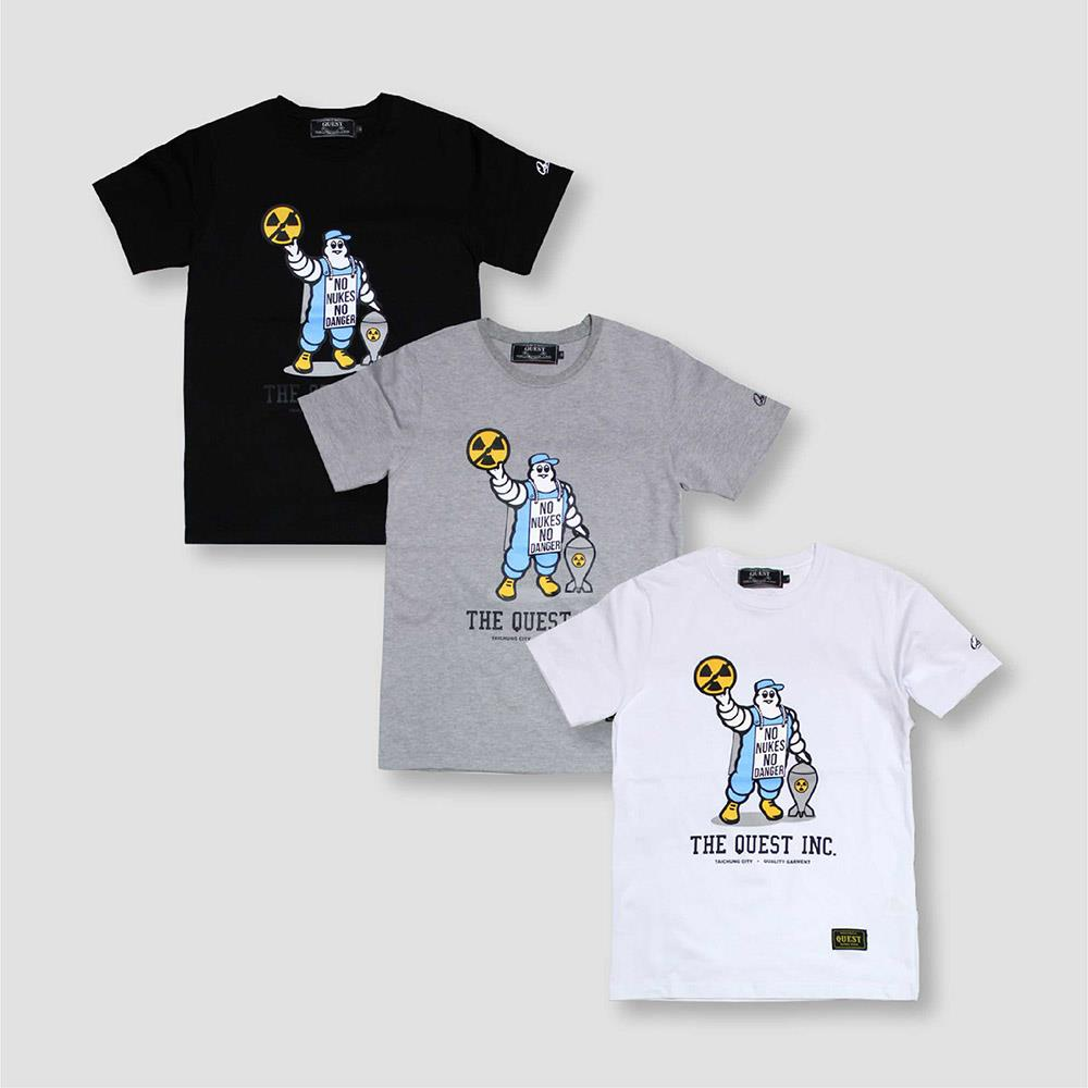 【QUEST】MICHELIN LOGO TEE 米其林 短T
