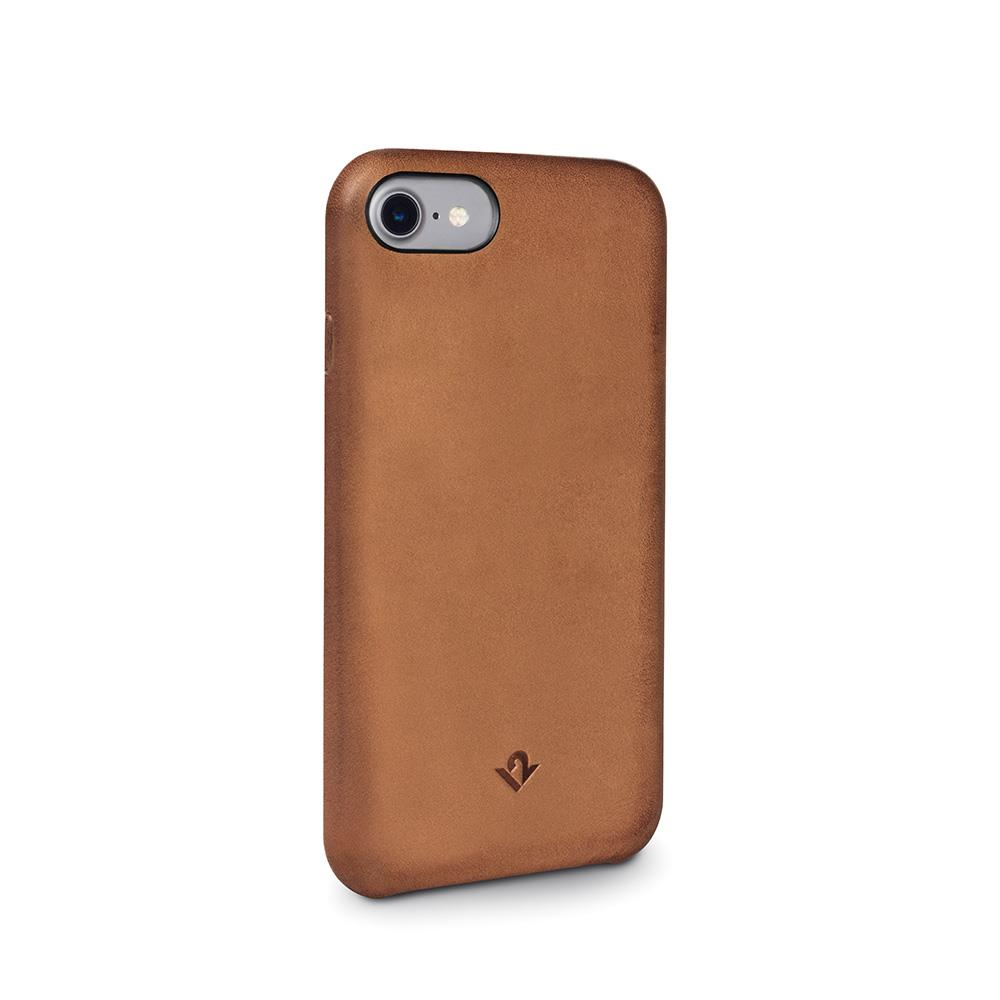 Twelve South Relaxed Leather iPhone 8 / iPhone 7 / iPhone 6 / 6s 皮革保護背蓋-干邑棕