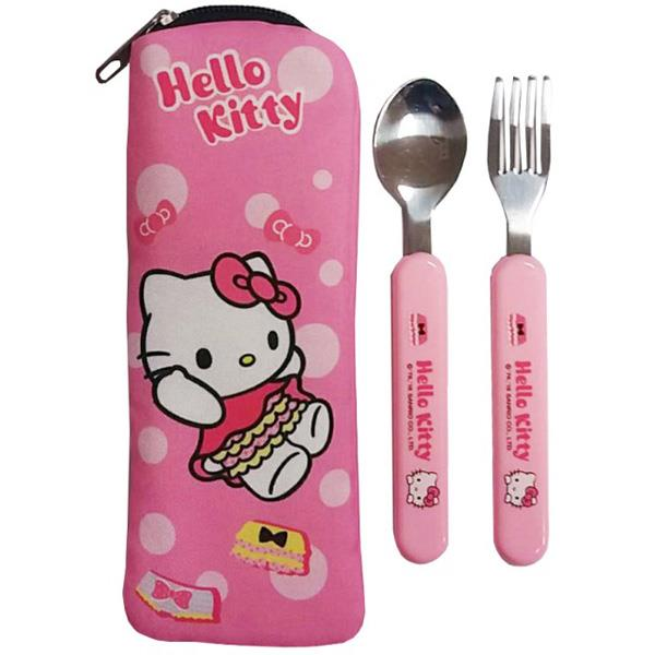 ~Hello Kitty~不銹鋼餐具組