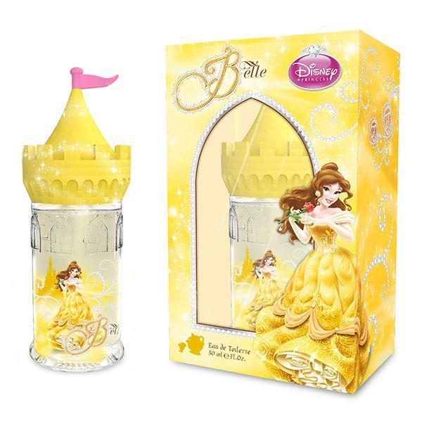 ~Disney~ Belle 美女與野獸 童話城堡淡香水 50ml
