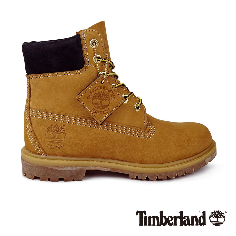 Timberland 女款小麥色磨砂革 45周年Timberland® Icon 6吋靴|A1SI1