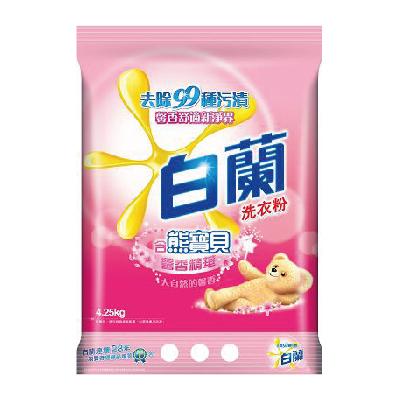 白蘭含熊寶貝馨香精華洗衣粉4.25kg