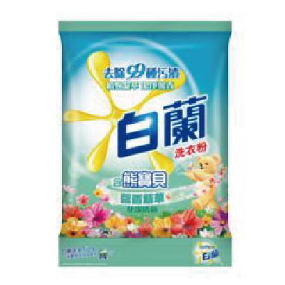 白蘭含熊寶貝馨香精華花漾清新洗衣粉4.25kg