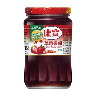 康寶果醬草莓 400g