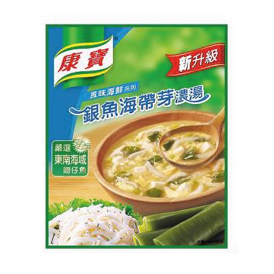 康寶濃湯-銀魚海帶芽