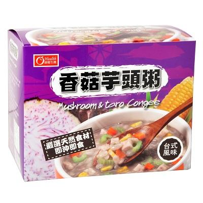 香菇芋頭粥