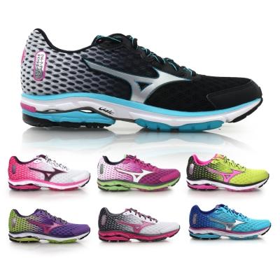 MIZUNO WAVE RIDER 18 女慢跑鞋 ^( 路跑 美津濃≡排汗 ≡~0201